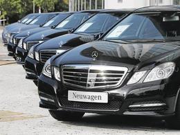 Le marché automobile allemand dégringole en 2013