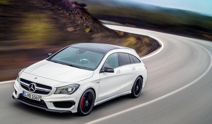 Mercedes : la future CLA Shooting Brake AMG confirmée