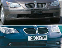 Lifting BMW Série 5