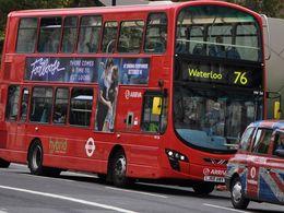 Ligne 76 à Londres: 34% de consommation en moins
