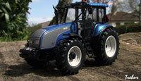 Miniature : 1/43ème - tracteur VALTRA T190