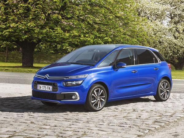 Citroën dévoile le C4 Picasso restylé