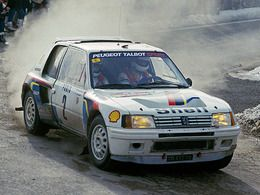 ench res la peugeot 205 t16 d 39 ari vatanen bient t vendre monaco. Black Bedroom Furniture Sets. Home Design Ideas