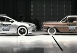 [Vidéo] Crash-test : l'écart stupéfiant entre une berline de maintenant et une berline d'il y a 50 ans