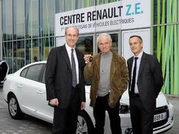 Yann Arthus-Bertrand roulera en Renault Fluence Z.E