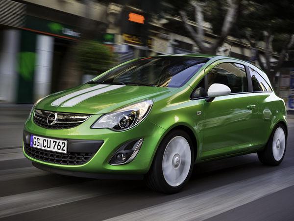 Restylage et nouveau moteur pour l'Opel Corsa