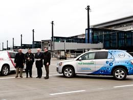 Les Aéroports de Berlin testent l'Opel HydroGen4