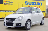 Suzuki France lance une coupe Swift Sport en 2007