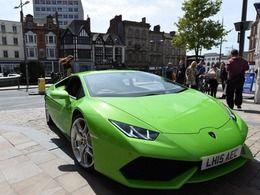 Une Lamborghini Huracan enregistrée comme taxi en Angleterre