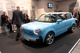 Direct Francfort 2009 : Trabant nT, la Mini E populaire ?