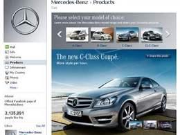 Réseaux sociaux: Mercedes cartonne sur la toile