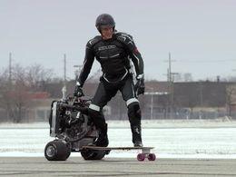 Ford met un moteur EcoBoost sur un skateboard