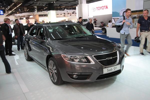 Direct Francfort 2009 : nouvelle Saab 9-5, sérieuse
