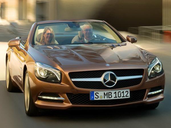 Nouveau Mercedes SL : 39 photos en fuite