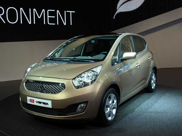 Kia Venga en direct de Francfort
