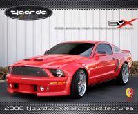 HST International/Tjaarda Design : Tjaarda EVX Mustang, une Mustang électrique !