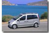 MARS, Mercedes Vaneo, Range Rover, Seat Ibiza