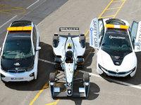 La BMW i8 safety car en Formula E