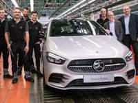 Mercedes lance la production du nouveau Classe B