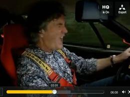 Top Gear : James May choisirait la Ferrari F40 pour brûler le dernier litre d'essence. Et vous ?