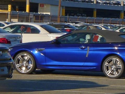Future BMW M6 cabriolet: dans son plus simple appareil