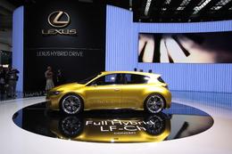 Direct Francfort 2009 : Lexus LF-Ch Concept, déclaration d'intentions
