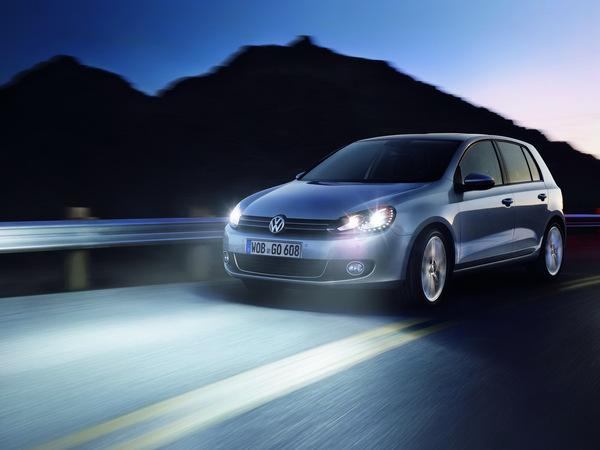 Des LED à l'avant pour la Volkswagen Golf