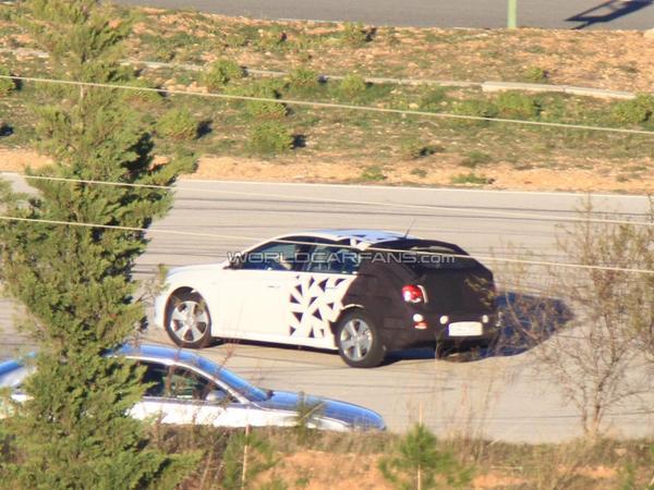 Spyshot : la Chevrolet Cruze cinq portes est de sortie
