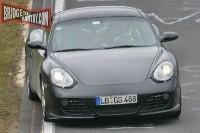 Porsche Cayman Turbo en préparation?