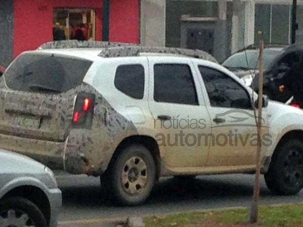 Rapid'news - Le Renault Duster bientôt restylé au Brésil...