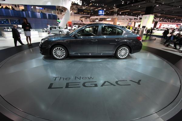 Direct Francfort 2009 : Subaru Legacy et Outback, sans tambours ni trompettes