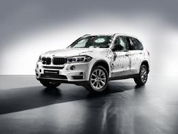 Salon de Moscou 2014 : BMW X5 Security Plus, à l'épreuve des balles
