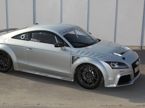 Nouvelle Audi TT GT4: arme fatale?
