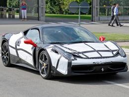 Mondial de Paris 2014 - La future Ferrari 458M y sera-t-elle?