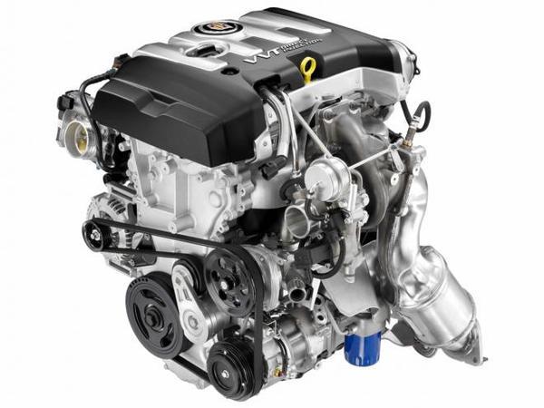Une 4 cylindres turbo de 270 ch pour la Cadillac ATS