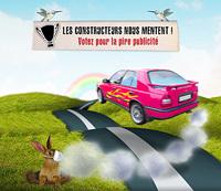 Greenpeace lance un site pour dénoncer les pubs auto soit-disant « écolo »