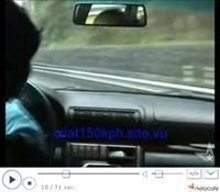 [Vidéo] Une plaque d'huile à 150 km/h sur l'autoroute, ça fait comment ?