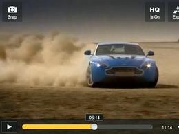 Top Gear USA : à fond dans le désert en Aston-Martin V12 Vantage