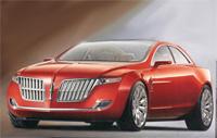 Lincoln MKR Concept à Détroit