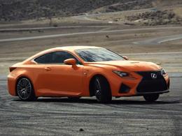 Future Lexus RC-F : mises en bouche en vidéo