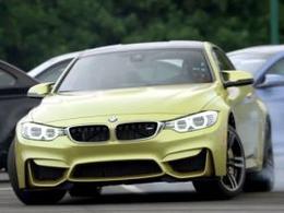 La BMW M4 célèbre la famille M à sa façon
