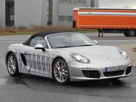 Le nouveau Porsche Boxster à Genève?