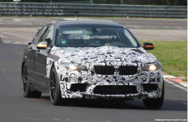 Spyshot : future BMW M5