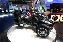 Direct Francfort 2009 : Nouveau Can-Am Spyder RT Roadster, la Goldwing BRP