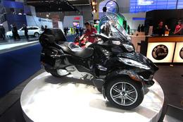 Direct Francfort 2009 : Nouveau Can-Am Spyder RT Roadster, la Goldwing BRP