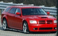 Dodge Magnum SRT8 Phase 2 à Detroit