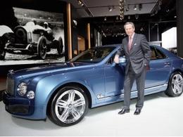 Un nouveau patron pour Bentley