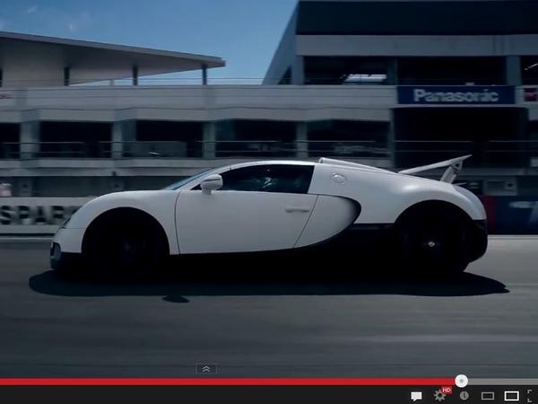 Vidéo - La Bugatti Veyron à l'assaut du chronomètre sur le Fuji Speedway