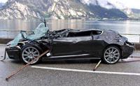 L'Aston Martin de 007 pas amphibie