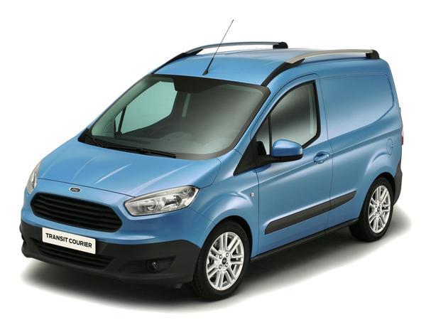 Voici le nouveau Ford Transit Courier